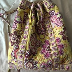 Vera Bradley Drawstring Cinch Bag